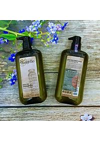 Cặp dầu gội xả Dangello Keratin shampoo & Conditioner siêu mượt tóc 500ml-4