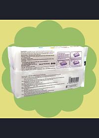 Khăn ướt làm sạch tinh khiết dành cho bé Oma&Baby với công thức Chlorhexidine Digluconate kháng khuẩn an toàn, dịu nhẹ trong khăn ( 85 tờ ) - Oma&Baby premium baby wet wipes ( 85 sheets per package)-2