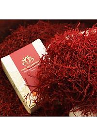 Combo 2 Hộp Nhụy Hoa Nghệ Tây Iran Loại Super Negin Thượng Hạng - Saffron KingDom (Hộp 1 Gram)-2