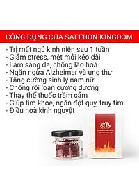Combo 2 Hộp Nhụy Hoa Nghệ Tây Iran Loại Super Negin Thượng Hạng - Saffron KingDom (Hộp 1 Gram)-5