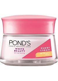 Bộ Đôi Kem Dưỡng Da Ngày Và Đêm Trắng Hồng Rạng Rỡ Pond's White Beauty (50g)-2