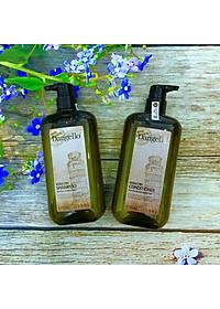 Cặp dầu gội xả Dangello Keratin shampoo & Conditioner siêu mượt tóc 500ml-1