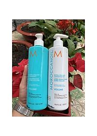 Bộ dầu gội xả tăng phồng tóc Moroccanoil Extra Volume shampoo Conditioner 500ml - Hàng chính hãng-1