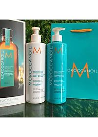 Bộ dầu gội xả tăng phồng tóc Moroccanoil Extra Volume shampoo Conditioner 500ml - Hàng chính hãng-3