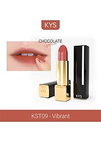 Son Chocolate Matte Lipstick KYS – VIBRANT CAM HỒNG ĐẤT-1