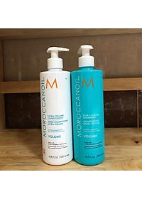 Bộ dầu gội xả tăng phồng tóc Moroccanoil Extra Volume shampoo Conditioner 500ml - Hàng chính hãng-4