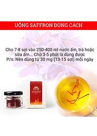 Combo 2 Hộp Nhụy Hoa Nghệ Tây Iran Loại Super Negin Thượng Hạng - Saffron KingDom (Hộp 1 Gram)-6