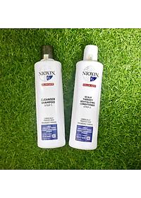 Dầu gội xả Nioxin 6 Chemically Treated Hair Progressed Thinning Cho tóc uốn duỗi tẩy có dấu hiệu thưa rụng Mỹ 300ml-2