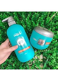 Dầu hấp ủ tóc nuôi dưỡng suôn mượt L'oreal Hair Spa Deep Nourishing Creambath 500ml-4