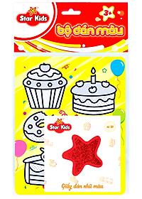 Bộ Tranh Dán Màu Thế Giới Bánh Ngọt STAR KIDS (K-604)