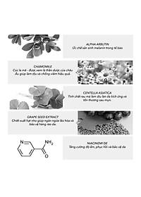 Serum trắng da ALPHA ARBUTIN & HERRS 30ml-4