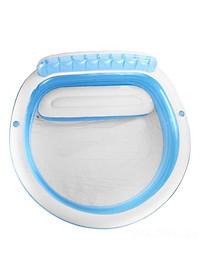 Bể bơi bơm hơi gia đình có ghế ngồi tròn xanh Intex 57190-3