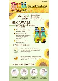 Dầu Xả Himawari Phục Hồi Và Làm Dày Tóc Chai 500ml-1