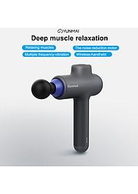 Máy Massage Cầm Tay YUNMAI Deep Fascia Massage Guns 3 Modes 4 Heads Handheld Rechargeable Deep Muscle Tissue Massager-3