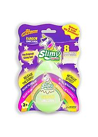 Chất Nhờn Ma Quái Slimy Slime - Vỉ Trứng Kỳ Lân Ánh Kim-Xanh Lá