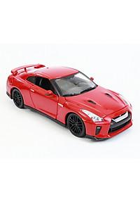 Mô Hình Xe Nissan GT-R 2017 Red 1:24 Bburago - MH18-21082