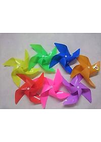 Chong Chóng Nhựa Bộ 100 Cái Nhiều Màu