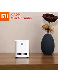 Máy lọc không khí Xiaomi Mini xúc tác quang formaldehyde Sạc USB không dây phù hợp white-0