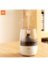 Xiaomi Ecological Chain Ultrasonic Aromatherapy Humidifier With Colorful Night Light Two Spray Modes Mini Air Humidifier Household Nano Spray Mute Humidifying Aroma Diffuser For Office Car Use - White-0