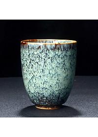 Cốc uống trà bằng sứ kiểu cổ điển phong cách Trung Quốc 200ml - Mẫu 3-5