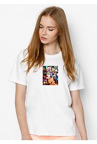 Biểu đồ lịch sử biến động giá bán Áo Thun Nữ In Hình She Loves Colour SuviT01120114 - Trắng