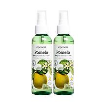 Combo 2 Pomelo xịt dưỡng tóc tinh dầu vỏ bưởi cocoon (130ml/chai)
