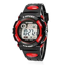 Đồng hồ thể thao trẻ em dây nhựa SNK 99269 (Đỏ)