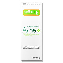 Kem dưỡng da ngăn ngừa mụn Smooth E Acne Hydrogel Plus (Salicylic Acid 2% & 4% - KLT: 10g)