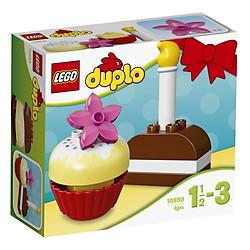 Mô Hình Lego Duplo - Bánh Kem Đầu Tiên 10850 (8 Mảnh Ghép)
