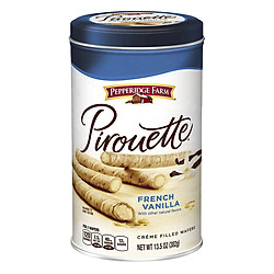 Bánh Quế Vị Vani Pirouette Pepperidge Farm (382g)