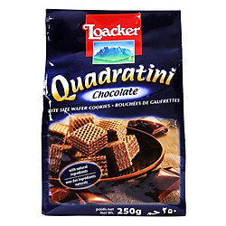 Bánh Xốp Quadratini Socola Loacker (250g)