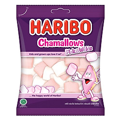 Kẹo Xốp Haribo Chamallows Pink & White (150g)