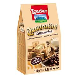 Bánh Xốp Quadratini Cappuccino Loacker (110g)