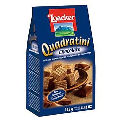 Bánh Xốp Quadratini Socola Loacker (125g)