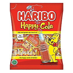 Kẹo Dẻo Haribo Happy Cola (200g)