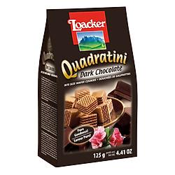 Bánh Xốp Quadratini Socola Đắng Loacker (125g)