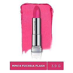 Son Lì Siêu Nhẹ Môi Maybelline New York Powder Matte (3.9g) - #MPK14 Fuchsia Flash