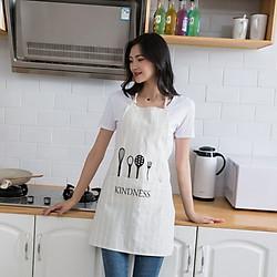 Tạp dề Love Cooking không thấm nước
