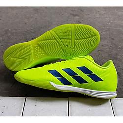 Giày Đá Banh Đế Bằng Xanh Chuối - Giày Futsal 2019