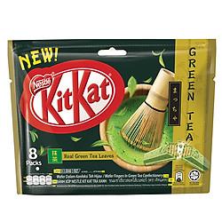 Túi 8 Bánh Socola Kitkat Trà Xanh SB