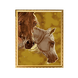 Bộ Dụng Cụ Vẽ Tranh Sơn Dầu Họa Tiết Đầu Chú Ngựa (40*50cm)