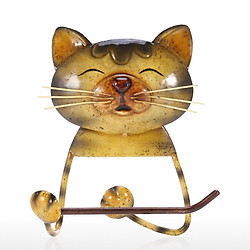 Dụng Cụ Giữ Khăn Giấy Hình Mèo Dùng Cho Nhà Vệ Sinh Nhà Tắm