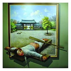 Tranh 3D Trang Trí showroom Q21_79