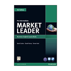 Market Leader 3Rd Edition Pre-Intermediate Course Book And Dvd-Rom Pack