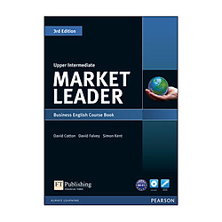 Market Leader 3Rd Edition Upper Intermediate Course Book & Dvd-Rom Pack