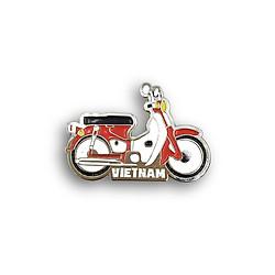 Huy hiệu lưu niệm Việt Nam (lapel pin) - Xe máy