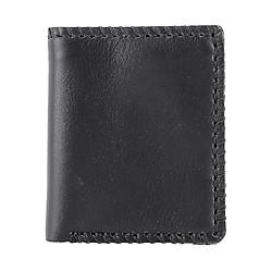 Ví Da Nam VL Leather VL0004 (12 x 10 cm) - Đen