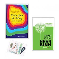 Combo Thấu Hiểu Hệ Thống + Mạn Đàm Nhân Sinh - Tặng kèm bookmark PĐ