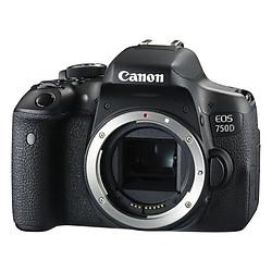 Máy Ảnh Canon 750D (Body) - Hàng Chính Hãng
