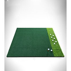 Thảm tập swing golf - PGM Double Grass DJD006